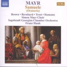 Johann Simon Mayr (1763-1845): Samuele, 2 CDs
