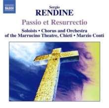 Sergio Rendine (geb. 1954): Passio Domini Nostri Jesu Christi, CD