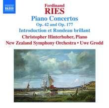 Ferdinand Ries (1784-1838): Klavierkonzerte op.42 & 177, CD