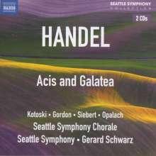 Georg Friedrich Händel (1685-1759): Acis und Galatea, 2 CDs