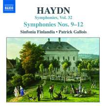 Joseph Haydn (1732-1809): Symphonien Nr.9-12, CD
