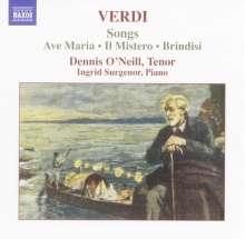 Giuseppe Verdi (1813-1901): Lieder, CD