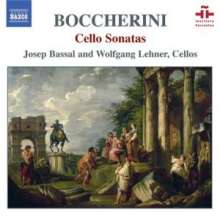 Luigi Boccherini (1743-1805): Sonaten für Cello & Bc, CD