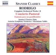 Joaquin Rodrigo (1902-1999): Orchesterwerke Vol.8, CD