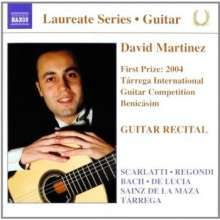David Martinez - Guitar Recital, CD