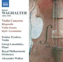 Ignatz Waghalter (1881-1941): Violinkonzert, CD