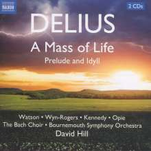 Frederick Delius (1862-1934): A Mass of Life, 2 CDs