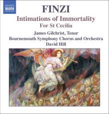 Gerald Finzi (1901-1956): Intimations of Immortality op.29, CD