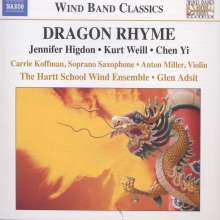 The Hartt School Wind Ensemble - Dragon Rhyme, CD