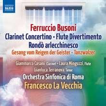 Ferruccio Busoni (1866-1924): Klarinettenkonzert op.48, CD