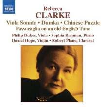 Rebecca Clarke (1886-1979): Musik mit Viola, CD