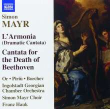 Johann Simon Mayr (1763-1845): L'Armonia (Dramatische Kantate), CD