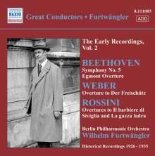Furtwängler - The Early Recordings Vol.2, CD