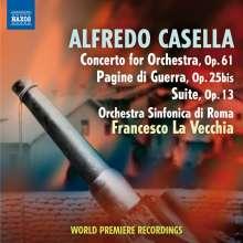Alfredo Casella (1883-1947): Konzert für Orchester op.61, CD