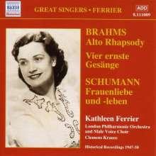 Kathleen Ferrier singt Brahms & Schubert, CD