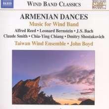 Taiwan Wind Ensemble - Armenian Dances, CD