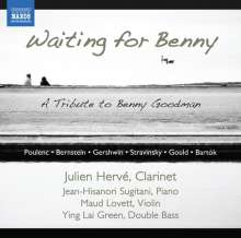 Julien Herve - Waiting for Benny (A Tribute For Benny), CD
