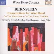 Leonard Bernstein (1918-1990): Transkriptionen für Bläserensemble, CD