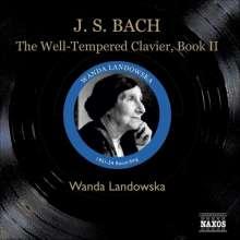 Johann Sebastian Bach (1685-1750): Das Wohltemperierte Klavier 2, 3 CDs