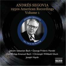 Andres Segovia - 1950s American Recordings Vol.1, CD