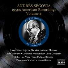 Andres Segovia - 1950s American Recordings Vol.4, CD