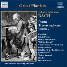 Johann Sebastian Bach (1685-1750): Transkriptionen für Klavier Vol.2, CD