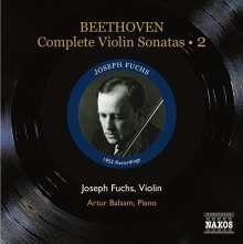 Ludwig van Beethoven (1770-1827): Sämtliche Violinsonaten Vol.2, CD