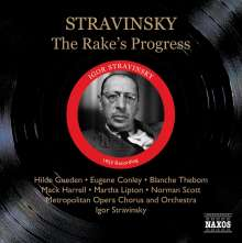 Igor Strawinsky (1882-1971): The Rake's Progress, 2 CDs
