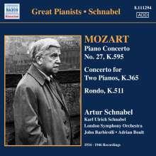 Wolfgang Amadeus Mozart (1756-1791): Klavierkonzert Nr.27 B-dur KV 595, CD