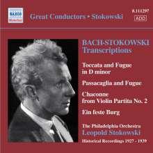 Johann Sebastian Bach (1685-1750): Leopold Stokowski-Transkriptionen, CD