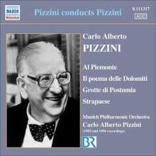 Carlo Alberto Pizzini (1905-1981): Pizzini conducts Pizzini, CD