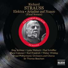 Richard Strauss (1864-1949): Elektra (Schlussszene), CD