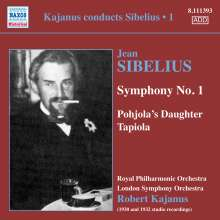 Kajanus conducts Sibelius Vol.1, CD