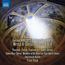 Gaetano Donizetti (1797-1848): Messa di Gloria e Credo, CD