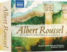 Albert Roussel (1869-1937): Symphonien Nr.1-4, 4 CDs