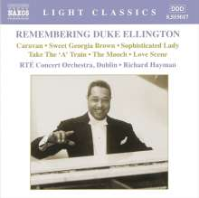 Duke Ellington (1899-1974): Remembering Duke Ellington - Orchesterstücke, CD