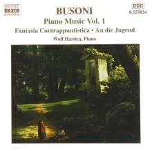 Ferruccio Busoni (1866-1924): Klavierwerke Vol.1, CD