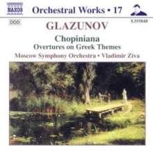 Alexander Glasunow (1865-1936): Orchesterwerke, CD