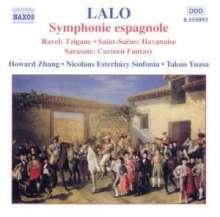 Edouard Lalo (1823-1892): Symphonie espagnole für Violine & Orchester op.21, CD