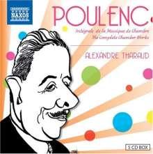 Francis Poulenc (1899-1963): Kammermusik, 5 CDs