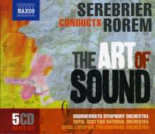 "Ned Rorem (geb. 1923): Serebrier conducts Rorem  ""The Art of Sound"", 5 CDs"