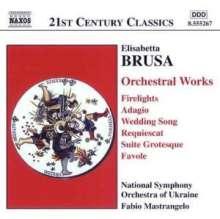 Elisabetta Brusa (geb. 1954): Orchesterwerke, CD