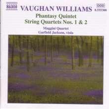 Ralph Vaughan Williams (1872-1958): Streichquartette Nr.1 & 2, CD