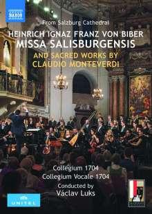Heinrich Ignaz Biber (1644-1704): Missa Salisburgensis, DVD