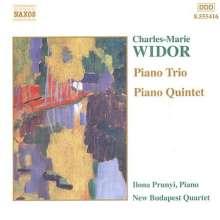 Charles-Marie Widor (1844-1937): Klavierquintett d-moll op.7, CD