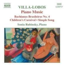 Heitor Villa-Lobos (1887-1959): Klavierwerke Vol.4, CD