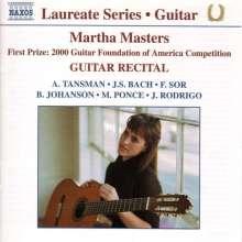 Martha Masters - Guitar Recital, CD