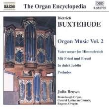 Dieterich Buxtehude (1637-1707): Orgelwerke Vol.2, CD