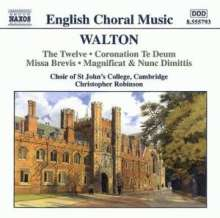 William Walton (1902-1983): Geistliche Chormusik, CD