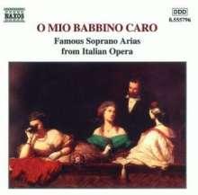 "Famous Italian Soprano Arias - ""O Mio Babbino Caro"", CD"